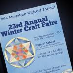 White Mountain Waldorf School Craft Fair Poster