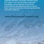 Geoscience Rack Card Design