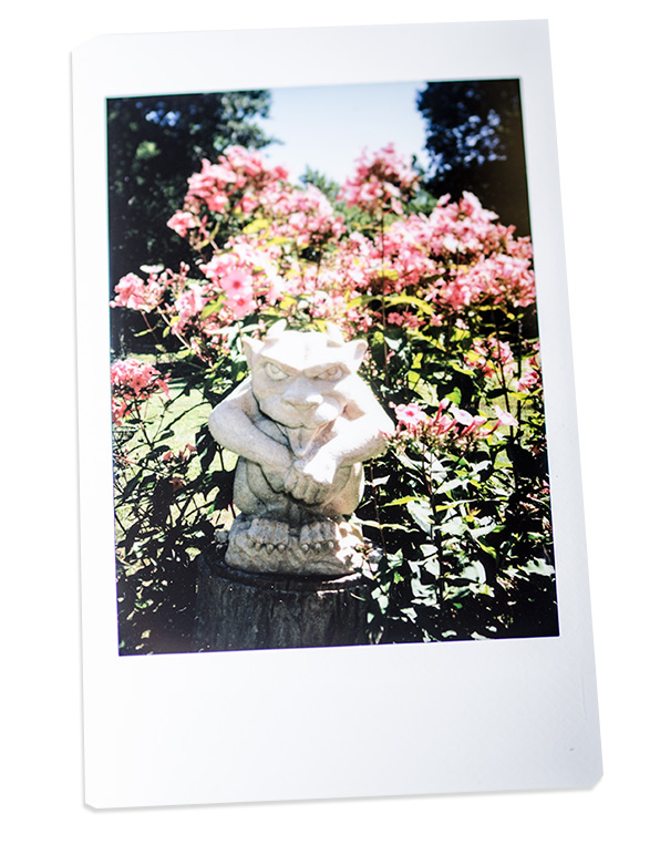 Fuji Instax - Gargoyle Photo