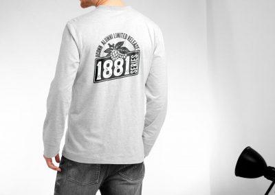 UConn 1881 Series Logo tee shirt design - Rovetti