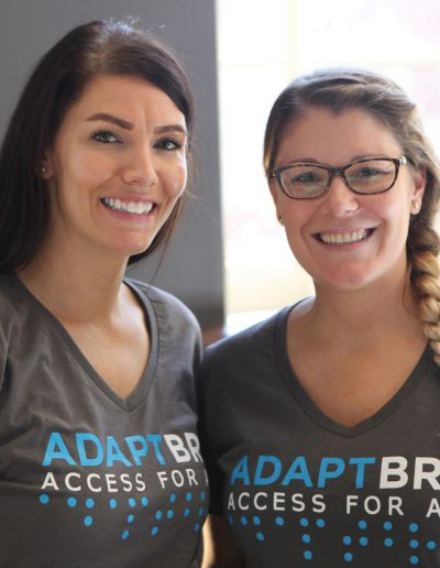 Adapt BRG Logo Design Portrait