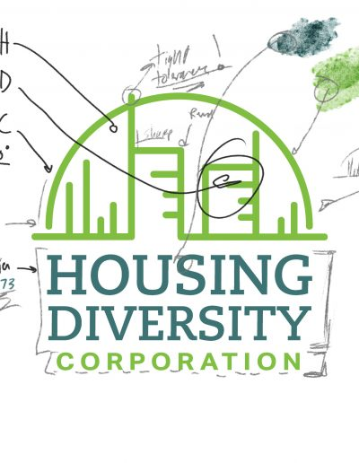 In process image of the Housing Diversity logo.